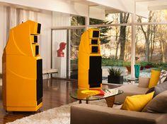 Wilson Audio Alexandria XLF - in Ferrari Yellow!!!