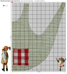 Pippi Longstocking apron pattern (German site)