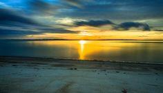 Sunrise Denmark II - Sunrise Moesgaard beach Denmark, long-term exposure. Long exposure Lee Filter Bigstopper 10 Nd.