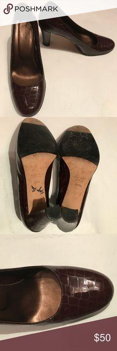 """Taryn Rose Brown Heels Rich brown Taryn Rose heels. Heel is 3-4"""" in height. Taryn Rose Shoes Heels"""
