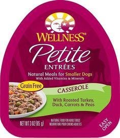 Wellness Petite Entrees Turkey/Duck Small Dog 24/3 oz