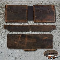 Springfield leather company's new line of vintage leather interiors. I would use this for my personal wallet