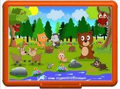 Rozprávka o lesných zvieratkách, v ktorej spoznáte niektoré lesné zvieratká a uvidíte, ako si zvieratká vyzbierali odpadky v lese a čo dostali za odmenu. Forest Animal Crafts, Forest Animals, Bambi, Games For Kids, Homeschool, Family Guy, Youtube, Fictional Characters, October
