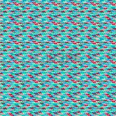 Small ditsy pattern with abstract shapes placed in rows in turquoise Seamless vector texture for web Stock Vector