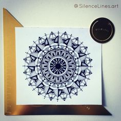 LITTLE MANDALA - French artwork - Handmade zentangles, doodles, drawings, illustrations, mandalas, tattoo ideas and designs...