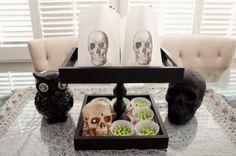 Upcycled Halloween Tray