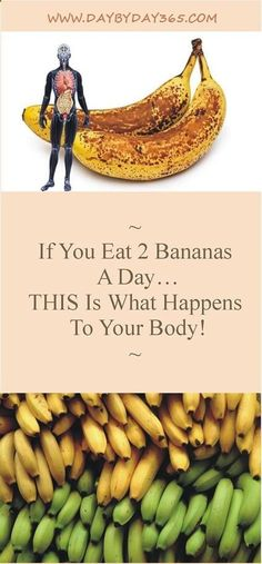 If You Eat 2 Bananas A Day… THIS Is What Happens To Your Body! - Read & Repin !!!