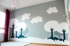 wall painting for kids room... i love it!!!!