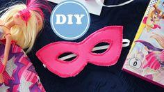 Barbie Super Prinzessin Maske - Schnittmuster gratis