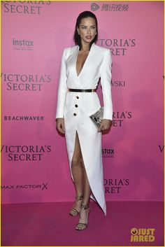 Adriana Lima & Alessandra Ambrosio Party It Up After Victoria's Secret Fashion Show 2016