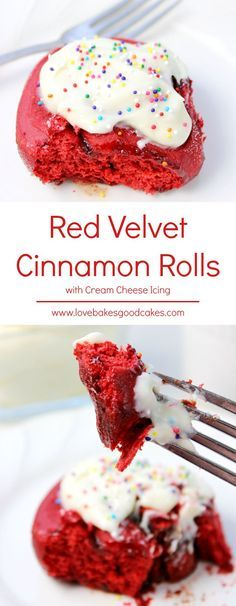 These Red Velvet Cinnamon Rolls with Cream Cheese Icing need no introduction. Starting with a boxed cake mix, you can easily make a batch of these soft and fluffy breakfast treats. Top them off with a perfectly smooth cream cheese icing and your family will be coming back for more! This recipe makes TWO FULL PANS!!