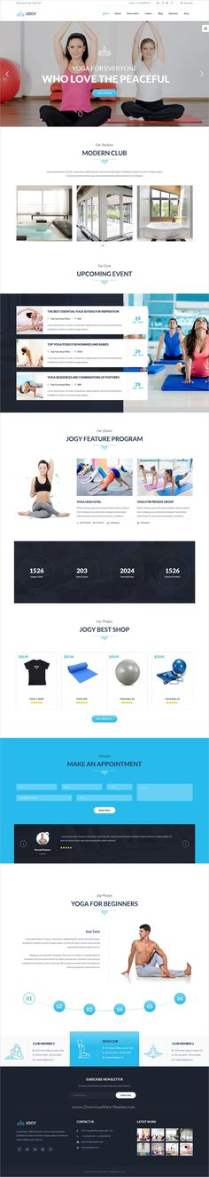 Jogy is clean and modern design 5in1 responsive #WordPress theme for stunning #Yoga and #spa center website download now➩ https://themeforest.net/item/jogy-yoga-spa-wordpress-theme/19767488?ref=Datasata