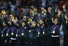 U.S. Women's Soccer Team Wins Gold