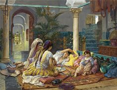 Amerikalı sanatçı  Frederick Arthur Bridgman (1847 - 1928)
