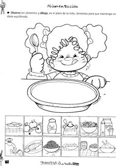 Healthy And Unhealthy Food, English Worksheets For Kids, Printable Numbers, Nutrition Activities, Primary Teaching, Classroom Language, Math For Kids, Kid Names, Kids Education