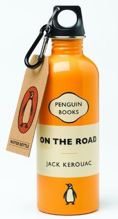Penguin Classics On The Road  Water Bottle