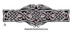 Celtic armband 2 by shepush on DeviantArt Celtic Band Tattoo, Celtic Cross Tattoos, Viking Tattoos, Arm Band Tattoo, Celtic Dragon, Celtic Art, Celtic Symbols, Celtic Patterns, Celtic Designs