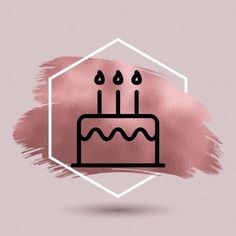 Pin by Dewi Fortuna at logo sg Instagram Blog, Instagram Frame, Creative Instagram Stories, Instagram Design, Instagram Story Ideas, Cake Icon, Hight Light, Happy Birthday Wallpaper, Instagram Background