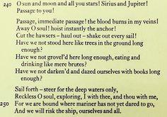 Whitman, Passage to India