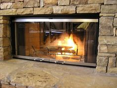 Fireplace Replacement Gl For Prefab Doors