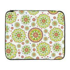 "Kristofer's Mandala 17"" Laptop Sleeve > EVERYTHING Kristofer's #Mandala > #PatriciaSheaDesigns"