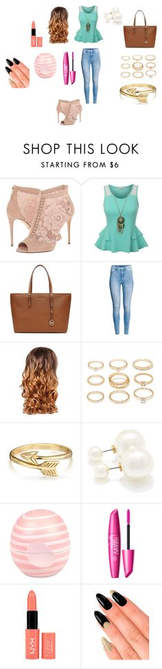 """""""Untitled #162"""" by dougherty-jenny ❤ liked on Polyvore featuring Dolce&Gabbana, MICHAEL Michael Kors, H&M, Lipsy, Forever 21, Bling Jewelry, River Island, NYX, House of Holland and women's clothing"""