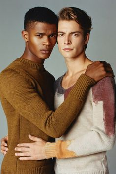 Timothee Bertoni & O'Shea Robertson | Photographed by Oliver Hadlee Pearch.