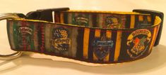 Shopping for a Harry Potter fan? This 1 wide dog collar is perfect for most medium and large breeds