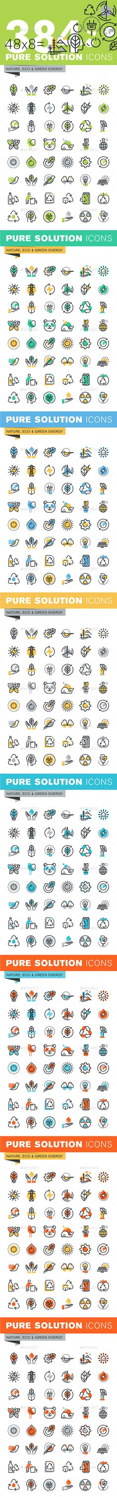 Set of Thin Line Flat Design Icons of Environment and Green Technology. Download here: http://graphicriver.net/item/set-of-thin-line-flat-design-icons-of-environment-and-green-technology/14788366?ref=ksioks