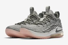 1bb13ebce2b Official Images  Nike LeBron 15 Low Light Bone Dark Stucco
