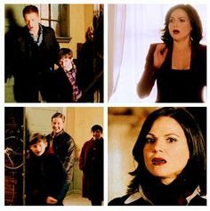 Season 2 & 3 parallels (Henry & Regina greetings).