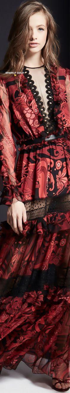 #ZuhairMurad #Fall2019 #Runway Dark Red Dresses, Versus Versace, Haute Couture Fashion, Zuhair Murad, Ulla Johnson, Play Dress, Runway Fashion, Ready To Wear, Feminine