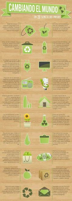 Reciclar AP Spanish Infograph