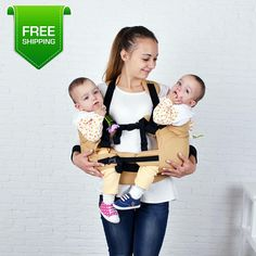 15 Ideas for baby carrier twins children Baby Cribs For Twins, Nursery Twins, New Baby Boys, Twin Babies, Twin Boys, Nursery Themes, Nursery Ideas, Baby Baby, Twin Carrier