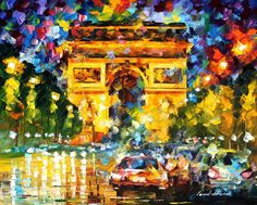 EVENING - PALETTE KNIFE Oil Painting On Canvas By Leonid Afremov http://afremov.com/EVENING-PALETTE-KNIFE-Oil-Painting-On-Canvas-By-Leonid-Afremov-Size-30-x40.html?bid=1&partner=20921&utm_medium=/vpin&utm_campaign=v-ADD-YOUR&utm_source=s-vpin