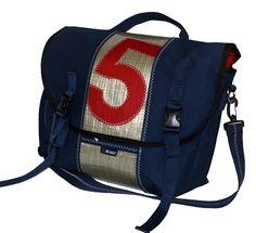 Messenger Bag - Bags by Re-Sails