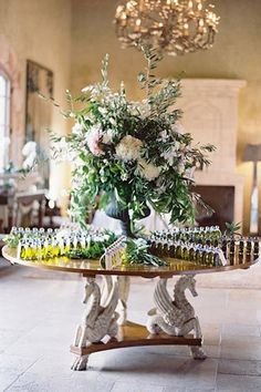 You don't have to get married in the picturesque countryside of Tuscany to steal this charming infused olive oil idea. Delizioso!