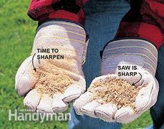How to sharpen a chainsaw (and know when it's time)
