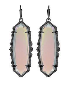 Francie Earrings in Iridescent Opalite - Kendra Scott Jewelry.