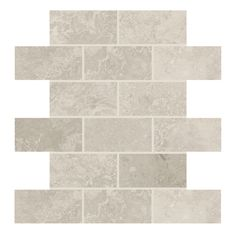 Shop American Olean Elara Ashen Tan Ceramic Mosaic Subway Indoor/Outdoor Wall Tile (Common: 12-in x 12-in; Actual: 12-in x 12-in) at Lowes.com