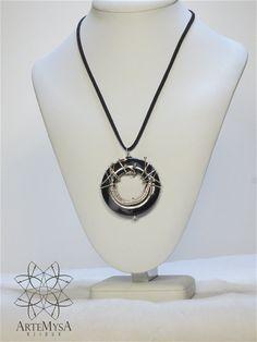 Black Beauty Necklace CLL16 by Artemysa on Etsy