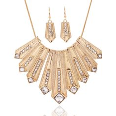 2017  Fashion Bohemia Crystal Maxi Collier Statement Necklace Punk Style Power Long Ethnic Choker Necklace Women Jewelry