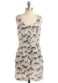 Zebra dress!