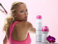 Carolina Wozniacki for Activelle by Oriflame