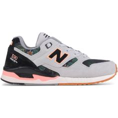 New Balance Low-Tops & Trainers (210 NZD) ❤ liked on Polyvore featuring shoes, sneakers, light grey, low profile shoes, low top, flat shoes, new balance and synthetic shoes