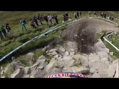 Trek World Racing DH || Aaron Gwin training run Fort William