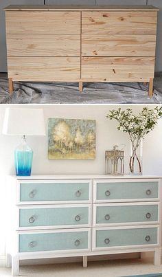 Elegant dresser makeover
