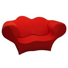 "Sofa Love Seat ""Double Soft Big Easy"" by Ron Arad  1991 Moroso Italy"