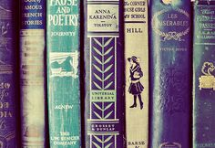 Beautiful book spines...