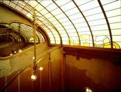 Hortamuseum, lichtkoepel (Foto Bastin & Evrard © MBHG, s.d.).